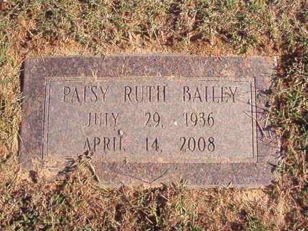 BAILEY, PATSY RUTH - Pulaski County, Arkansas | PATSY RUTH BAILEY - Arkansas Gravestone Photos
