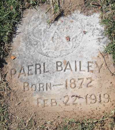 BAILEY, PAERL - Pulaski County, Arkansas | PAERL BAILEY - Arkansas Gravestone Photos