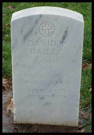 BAILEY (VETERAN WWI), DAVID P - Pulaski County, Arkansas | DAVID P BAILEY (VETERAN WWI) - Arkansas Gravestone Photos