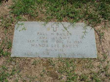 BAILEY, WANDA LEE - Pulaski County, Arkansas | WANDA LEE BAILEY - Arkansas Gravestone Photos