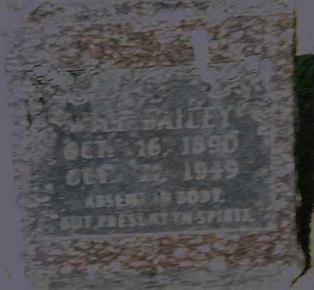 BAILEY, WILL - Pulaski County, Arkansas | WILL BAILEY - Arkansas Gravestone Photos