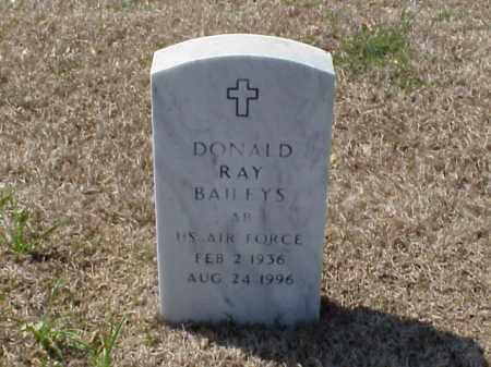 BAILEYS (VETERAN), DONALD RAY - Pulaski County, Arkansas | DONALD RAY BAILEYS (VETERAN) - Arkansas Gravestone Photos
