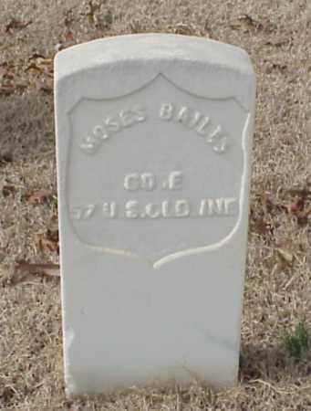 BAILIS (VETERAN UNION), MOSES - Pulaski County, Arkansas | MOSES BAILIS (VETERAN UNION) - Arkansas Gravestone Photos