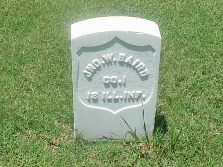 BAIRD (VETERAN UNION), JOHN W - Pulaski County, Arkansas | JOHN W BAIRD (VETERAN UNION) - Arkansas Gravestone Photos