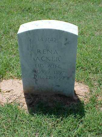 BAKEN, RENA - Pulaski County, Arkansas | RENA BAKEN - Arkansas Gravestone Photos