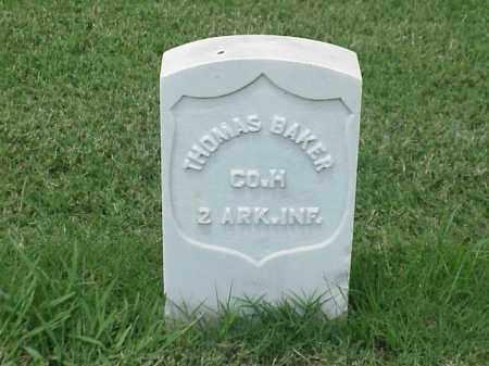 BAKER (VETERAN UNION), THOMAS - Pulaski County, Arkansas | THOMAS BAKER (VETERAN UNION) - Arkansas Gravestone Photos
