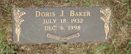 BAKER, DORIS J. - Pulaski County, Arkansas | DORIS J. BAKER - Arkansas Gravestone Photos