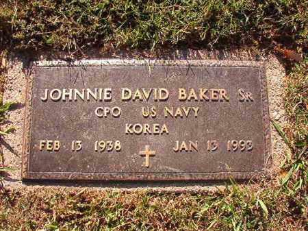 BAKER, SR (VETERAN KOR), JOHNNIE DAVID - Pulaski County, Arkansas | JOHNNIE DAVID BAKER, SR (VETERAN KOR) - Arkansas Gravestone Photos