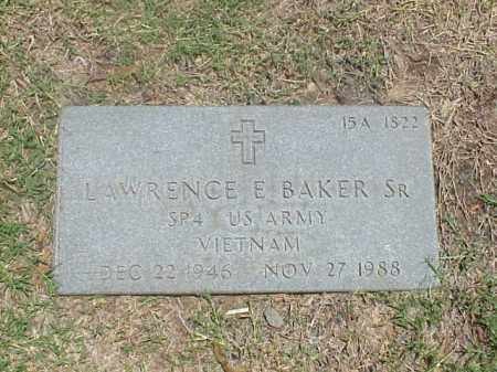 BAKER, SR (VETERAN VIET), LAWRENCE E - Pulaski County, Arkansas | LAWRENCE E BAKER, SR (VETERAN VIET) - Arkansas Gravestone Photos