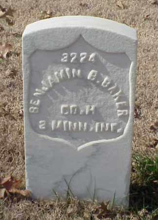 BAKER (VETERAN UNION), BENJAMIN B - Pulaski County, Arkansas | BENJAMIN B BAKER (VETERAN UNION) - Arkansas Gravestone Photos