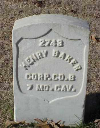 BAKER (VETERAN UNION), HENRY - Pulaski County, Arkansas | HENRY BAKER (VETERAN UNION) - Arkansas Gravestone Photos