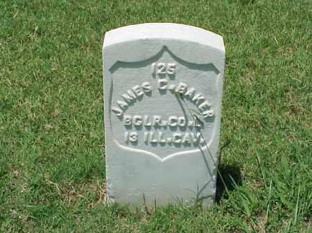 BAKER (VETERAN UNION), JAMES C - Pulaski County, Arkansas | JAMES C BAKER (VETERAN UNION) - Arkansas Gravestone Photos