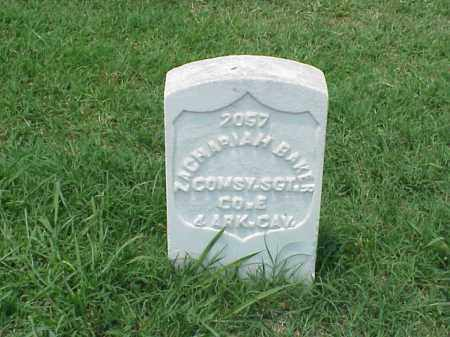 BAKER (VETERAN UNION), ZACHARIAH - Pulaski County, Arkansas | ZACHARIAH BAKER (VETERAN UNION) - Arkansas Gravestone Photos