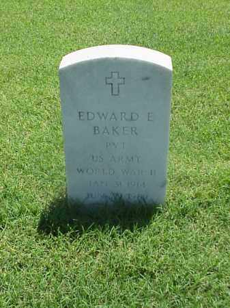 BAKER (VETERAN WWII), EDWARD E - Pulaski County, Arkansas | EDWARD E BAKER (VETERAN WWII) - Arkansas Gravestone Photos