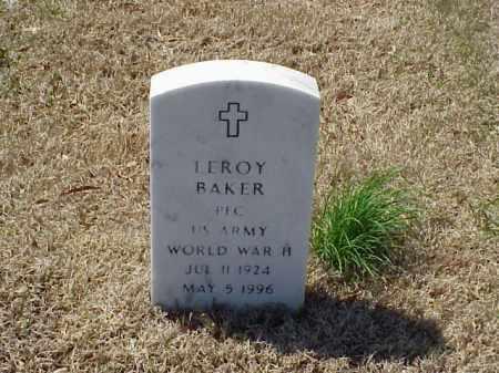 BAKER (VETERAN WWII), LEROY - Pulaski County, Arkansas | LEROY BAKER (VETERAN WWII) - Arkansas Gravestone Photos