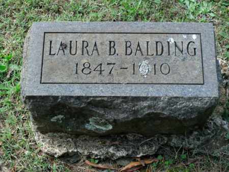"BALDING, LAURA ISABELLA ""BELLE"" - Pulaski County, Arkansas 