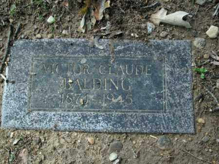 BALDING, VICTOR CLAUDE - Pulaski County, Arkansas | VICTOR CLAUDE BALDING - Arkansas Gravestone Photos