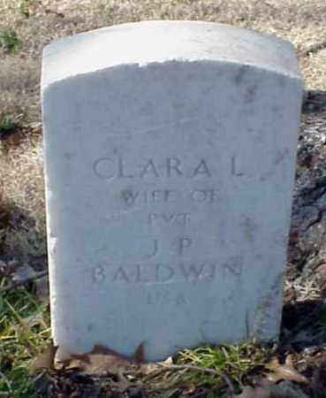 BALDWIN, CLARA L - Pulaski County, Arkansas | CLARA L BALDWIN - Arkansas Gravestone Photos