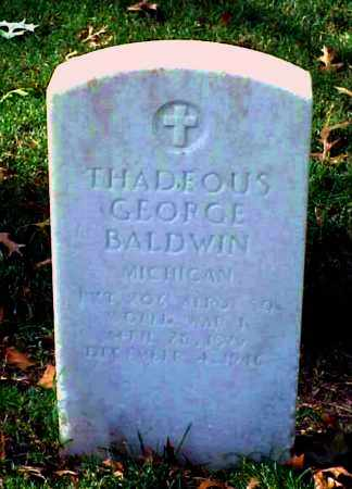 BALDWIN (VETERAN WWI), THADEOUS GEORGE - Pulaski County, Arkansas | THADEOUS GEORGE BALDWIN (VETERAN WWI) - Arkansas Gravestone Photos