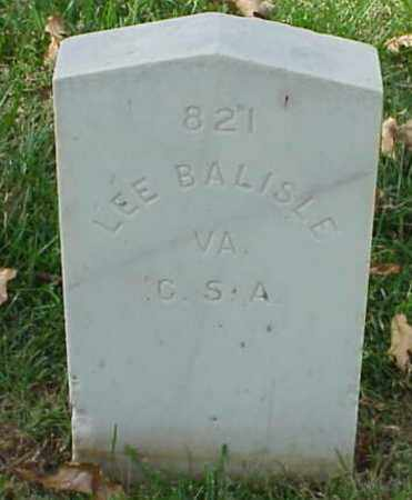 BALISLE (VETERAN CSA), LEE - Pulaski County, Arkansas | LEE BALISLE (VETERAN CSA) - Arkansas Gravestone Photos