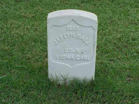 BALL (VETERAN UNION), JAPETH - Pulaski County, Arkansas | JAPETH BALL (VETERAN UNION) - Arkansas Gravestone Photos