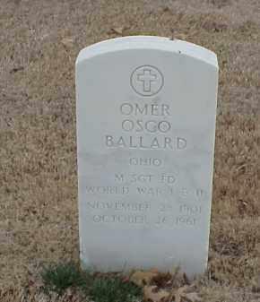 BALLARD  (VETERAN 2WARS), OMER OSCO - Pulaski County, Arkansas | OMER OSCO BALLARD  (VETERAN 2WARS) - Arkansas Gravestone Photos
