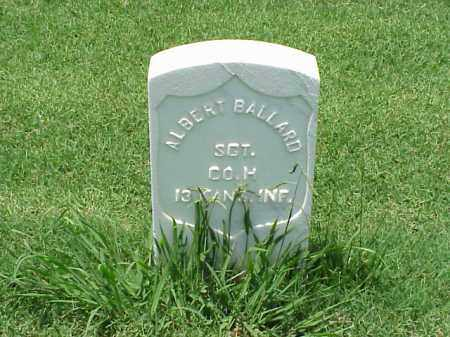 BALLARD (VETERAN UNION), ALBERT - Pulaski County, Arkansas | ALBERT BALLARD (VETERAN UNION) - Arkansas Gravestone Photos