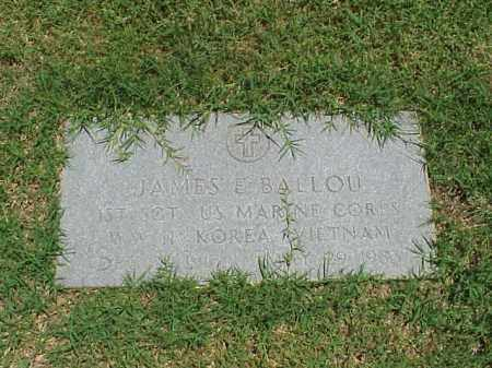 BALLOU (VETERAN 3WARS), JAMES E - Pulaski County, Arkansas | JAMES E BALLOU (VETERAN 3WARS) - Arkansas Gravestone Photos