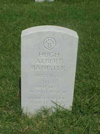 BANISTER (VETERAN WWII), HUGH ALBERT - Pulaski County, Arkansas | HUGH ALBERT BANISTER (VETERAN WWII) - Arkansas Gravestone Photos