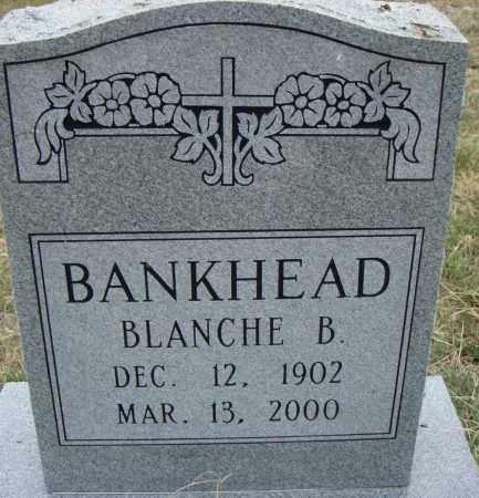 BANKHEAD, BLANCHE B. - Pulaski County, Arkansas | BLANCHE B. BANKHEAD - Arkansas Gravestone Photos