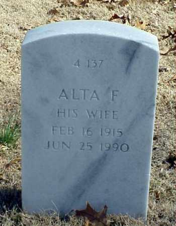 BANKS, ALTA F - Pulaski County, Arkansas | ALTA F BANKS - Arkansas Gravestone Photos