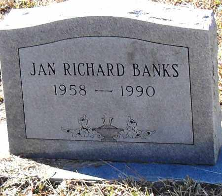 BANKS, JAN RICHARD - Pulaski County, Arkansas | JAN RICHARD BANKS - Arkansas Gravestone Photos
