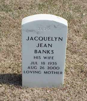 BANKS, JACQUELYN JEAN - Pulaski County, Arkansas | JACQUELYN JEAN BANKS - Arkansas Gravestone Photos
