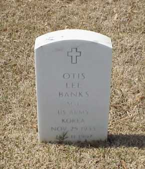 BANKS (VETERAN KOR), OTIS LEE - Pulaski County, Arkansas | OTIS LEE BANKS (VETERAN KOR) - Arkansas Gravestone Photos