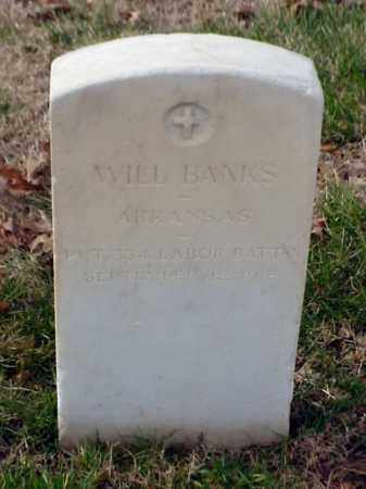 BANKS (VETERAN WWI), WILL - Pulaski County, Arkansas | WILL BANKS (VETERAN WWI) - Arkansas Gravestone Photos