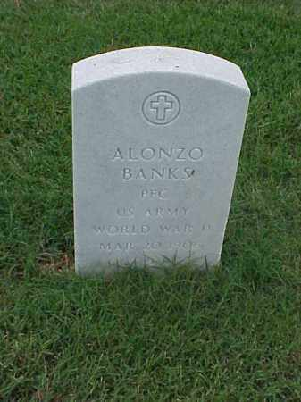 BANKS (VETERAN WWII), ALONZO - Pulaski County, Arkansas | ALONZO BANKS (VETERAN WWII) - Arkansas Gravestone Photos