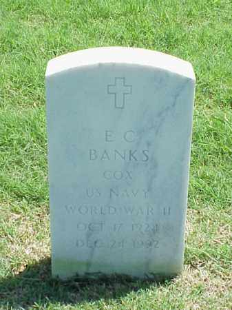 BANKS (VETERAN WWII), E C - Pulaski County, Arkansas | E C BANKS (VETERAN WWII) - Arkansas Gravestone Photos