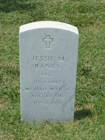 BANKS (VETERAN WWII), JESSIE M - Pulaski County, Arkansas | JESSIE M BANKS (VETERAN WWII) - Arkansas Gravestone Photos