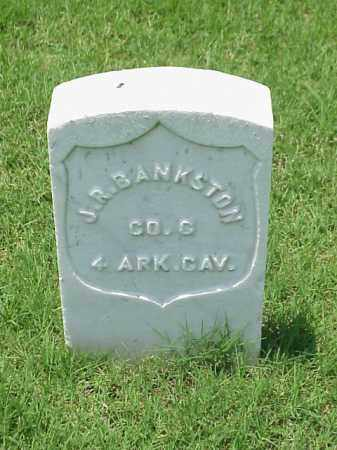 BANKSTON (VETERAN UNION), J R - Pulaski County, Arkansas | J R BANKSTON (VETERAN UNION) - Arkansas Gravestone Photos