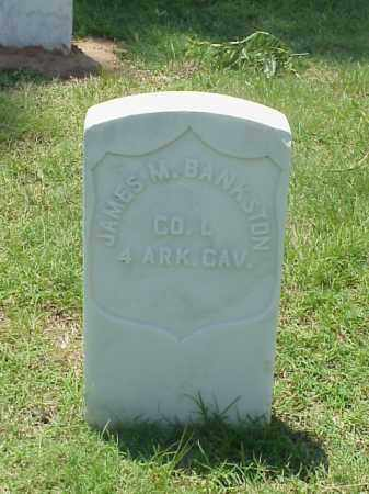 BANKSTON (VETERAN UNION), JAMES M - Pulaski County, Arkansas | JAMES M BANKSTON (VETERAN UNION) - Arkansas Gravestone Photos