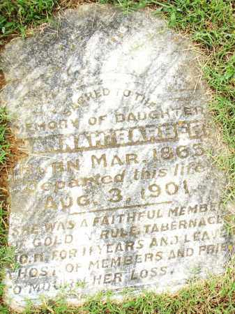 BARBER, HANNAH - Pulaski County, Arkansas | HANNAH BARBER - Arkansas Gravestone Photos