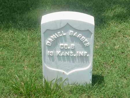 BARBER (VETERAN UNION), DANIEL - Pulaski County, Arkansas   DANIEL BARBER (VETERAN UNION) - Arkansas Gravestone Photos