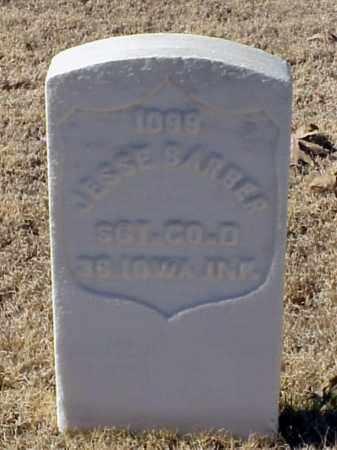BARBER (VETERAN UNION), JESSE - Pulaski County, Arkansas | JESSE BARBER (VETERAN UNION) - Arkansas Gravestone Photos
