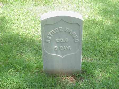 BARBO (VETERAN UNION), ARTHUR - Pulaski County, Arkansas | ARTHUR BARBO (VETERAN UNION) - Arkansas Gravestone Photos