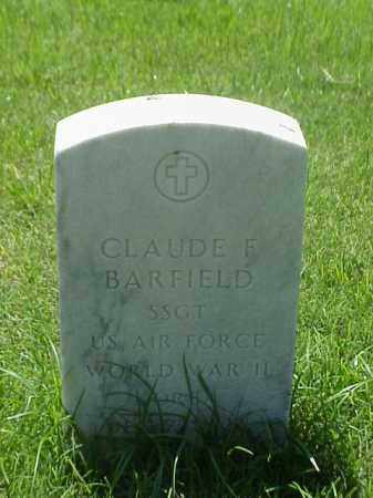 BARFIELD (VETERAN WWII), CLAUDE E - Pulaski County, Arkansas | CLAUDE E BARFIELD (VETERAN WWII) - Arkansas Gravestone Photos