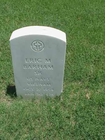 BARHAM, SR (VETERAN VIET), ERIC M - Pulaski County, Arkansas | ERIC M BARHAM, SR (VETERAN VIET) - Arkansas Gravestone Photos