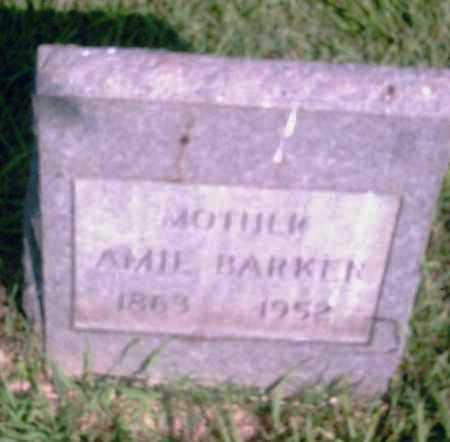 BARKER, AMIE - Pulaski County, Arkansas | AMIE BARKER - Arkansas Gravestone Photos