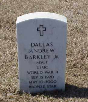 BARKLEY, JR (VETERAN WWII), DALLAS ANDREW - Pulaski County, Arkansas | DALLAS ANDREW BARKLEY, JR (VETERAN WWII) - Arkansas Gravestone Photos