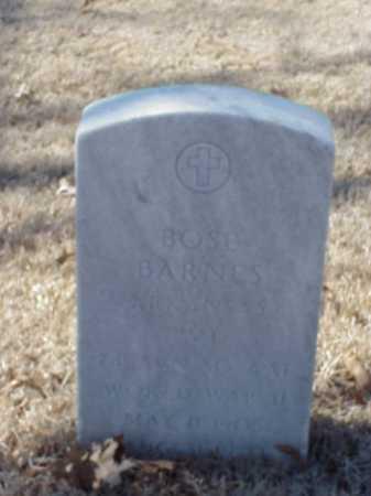 BARNES  (VETERAN WWII), BOSE - Pulaski County, Arkansas | BOSE BARNES  (VETERAN WWII) - Arkansas Gravestone Photos