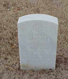 BARNES  (VETERAN WWI), ELIJAH - Pulaski County, Arkansas | ELIJAH BARNES  (VETERAN WWI) - Arkansas Gravestone Photos